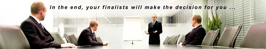 In the end your advertising agency or PR firm candidates will make the decision for you